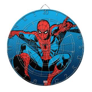Retro Spider-Man Web Shooting Dartboard
