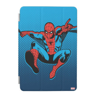 Retro Spider-Man Web Shooting iPad Mini Cover