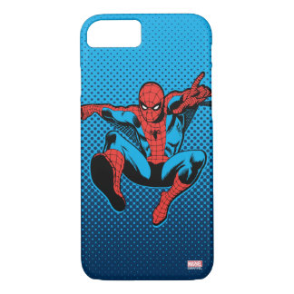 Retro Spider-Man Web Shooting iPhone 7 Case