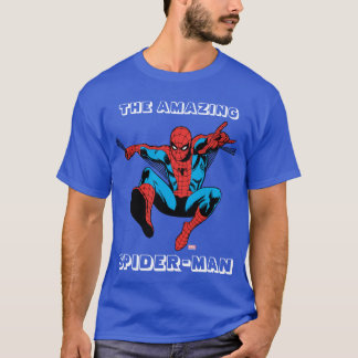 Retro Spider-Man Web Shooting T-Shirt