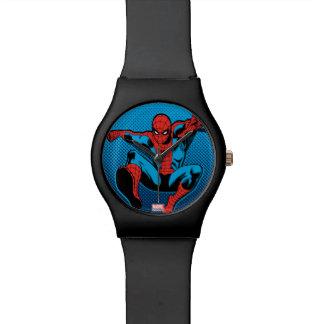 Retro Spider-Man Web Shooting Watch
