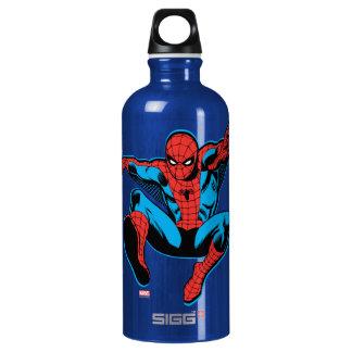 Retro Spider-Man Web Shooting Water Bottle