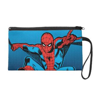 Retro Spider-Man Web Shooting Wristlet Purses