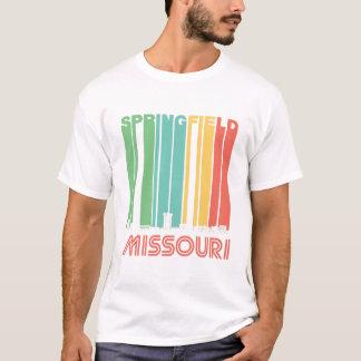 Retro Springfield Missouri Skyline T-Shirt