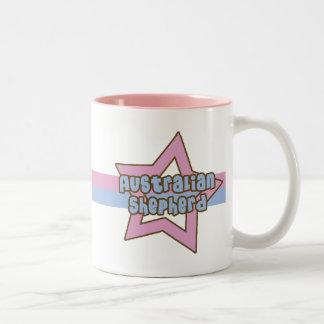 Retro Star Australian Shepherd Mug
