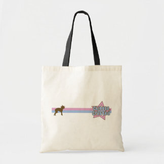Retro Star Chinese Crested Tote Bag