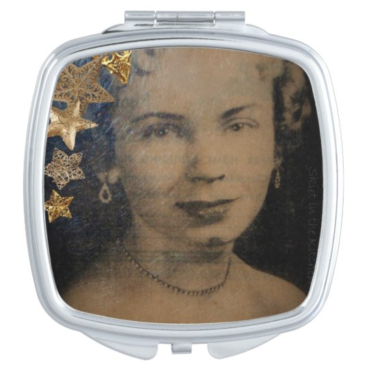 'Retro Star' Compact Mirror