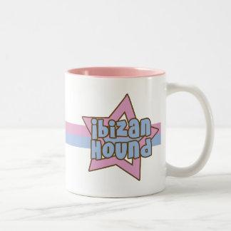 Retro Star Ibizan Hound Mug