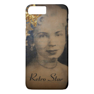 'Retro Star' iPhone 7 Plus, Barely There iPhone 7 Plus Case