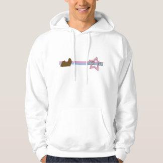 Retro Star Shih Tzu Hooded Sweatshirt