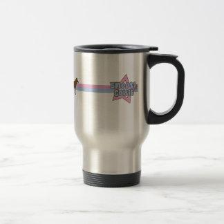Retro Star Smooth Collie Travel Mug