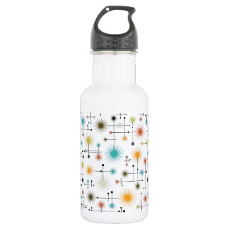 Retro Starbursts A Go-Go! 532 Ml Water Bottle