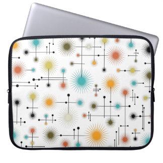 Retro Starbursts A Go-Go! Laptop Sleeve
