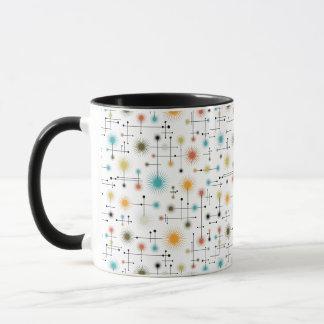 Retro Starbursts A Go-Go! Mug