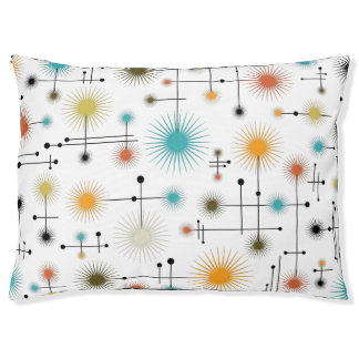 Retro Starbursts A Go-Go! Pet Bed