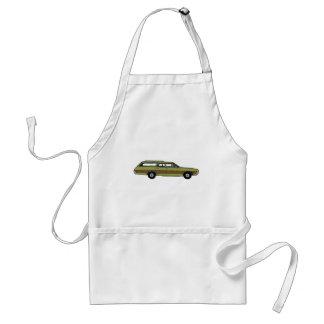 retro station wagon standard apron
