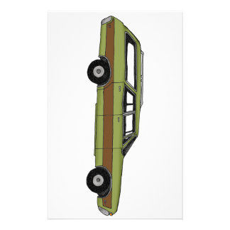 retro station wagon stationery