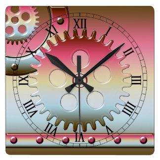 Retro Steam Punk Wall Clock