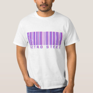 Retro Steez Bar Code Tshirt