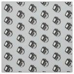 Retro Steno Machine Pick your Own Colour Fabric