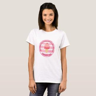 Retro Strawberry Ice Cream Sign Cone Shirt