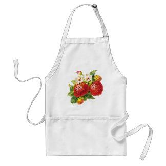 Retro Strawberry Standard Apron