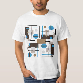 Retro style Abstract design pattern T-Shirt