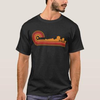 Retro Style Bethlehem Pennsylvania Skyline T-Shirt