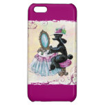 Retro Style Black Poodle IPhone Case Cover iPhone 5C Covers