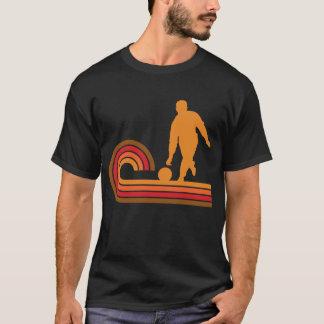 Retro Style Bowler Silhouette Bowling T-Shirt
