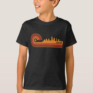Retro Style Cleveland Ohio Skyline T-Shirt