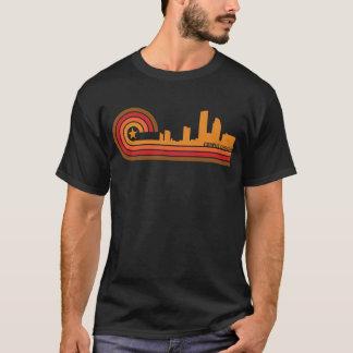 Retro Style Corpus Christi Texas Skyline T-Shirt