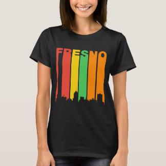 Retro Style Fresno CA Skyline T-Shirt