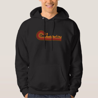 Retro Style Knoxville Tennessee Skyline Hoodie