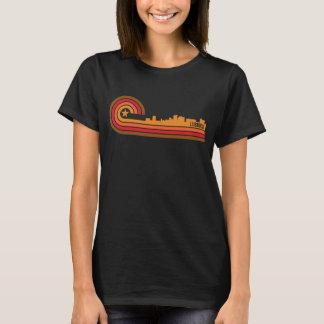 Retro Style Lubbock Texas Skyline T-Shirt