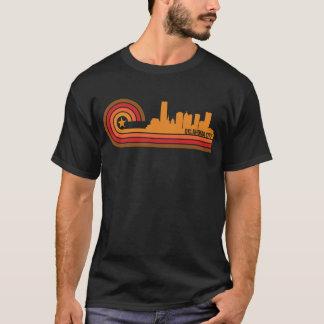 Retro Style Oklahoma City Oklahoma Skyline T-Shirt