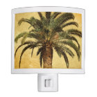 Retro Style Tropical Island vintage Palm Tree Night Lites