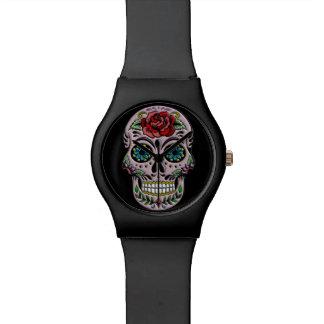 Retro Sugar Skull Day of the Dead Watch