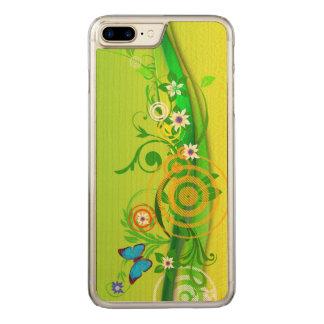 Retro Summer Carved iPhone 7 Plus Case