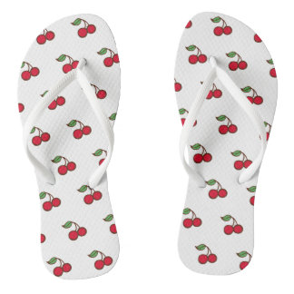 Retro Summer Cherry Flip Flops Sandals Gift