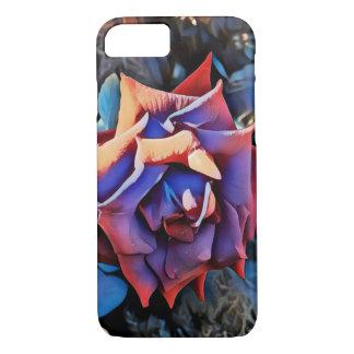 Retro summer rose iPhone 7 case