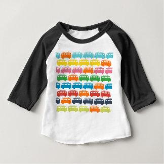 Retro Surf Bus Illustration Baby T-Shirt