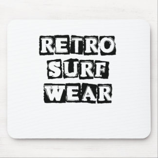 Retro Surf Wear Mouse Pad