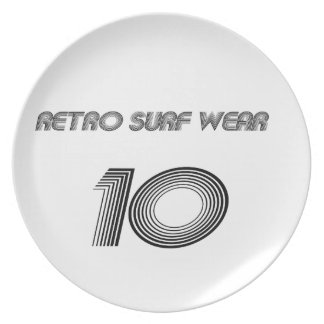 Retro Surf Wear Plate