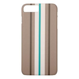 Retro Surfing Stripes Pattern iPhone 7 Plus Case