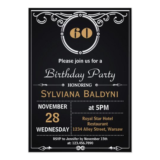 RETRO SURPRISE BIRTHDAY PARTY INVITATION