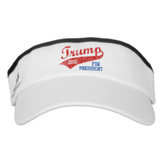 Retro Swash Donald Trump 2016 for President Visor