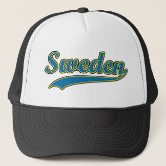 Retro Sweden Trucker Hat