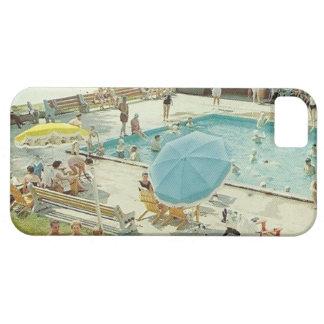 Retro Swimming Pool Vintage Photo Phone Case