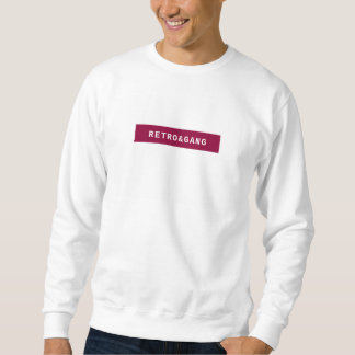 Retro swish sweater